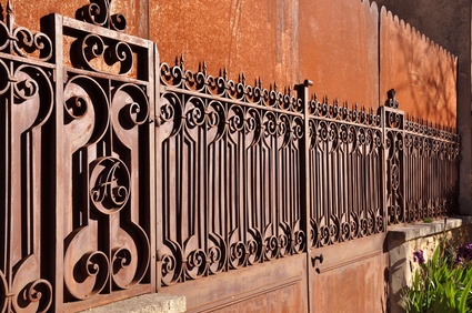 san antonio wrought iron fences
